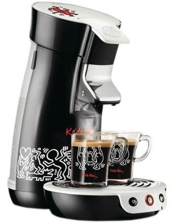 [ebay Wow] Keith Haring Design Kaffeepadmaschine: PHILIPS HD7826/60 Senseo + 2 Tassen inkl. Versand, 49,99€
