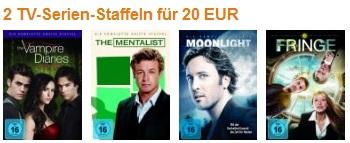 2 TV Serien zum Preis von 20€ inkl.Versand