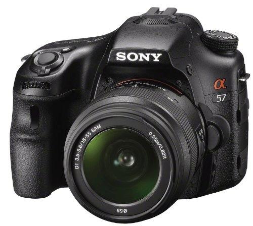 [Amazon UK] DSLR Kamera: Sony Alpha 57 (16MP, 18 55mm Objektiv) für 634,52€ inkl. Versand