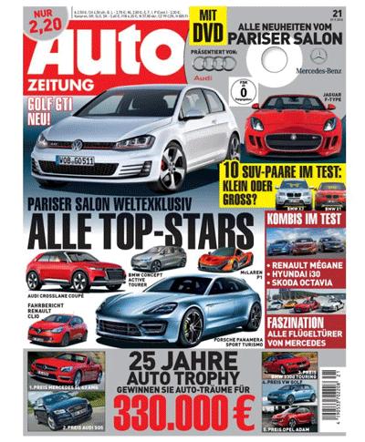 [Hobby und Freizeit] Auto Zeitung für 65€ + 50€ Gutschein