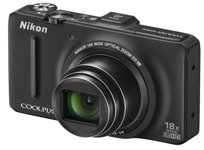 [Amazon WHD] Digitalkamera: Nikon Coolpix S9300 (16 Megapixel, 18 fach opt. Zoom, bildstabilisiert, GPS) inkl. Versand 174,38€