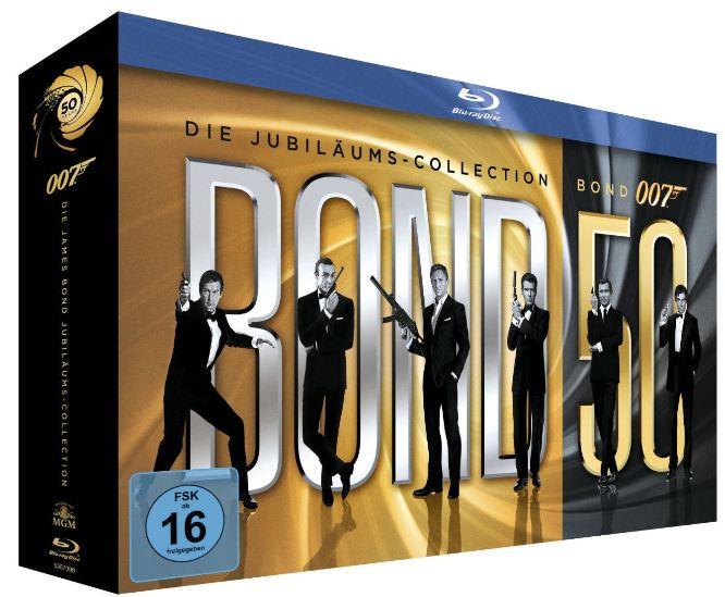 [Abo] 6 Monate Playboy und als Prämie die Blu ray Limited Box James Bond, für nur 115€!