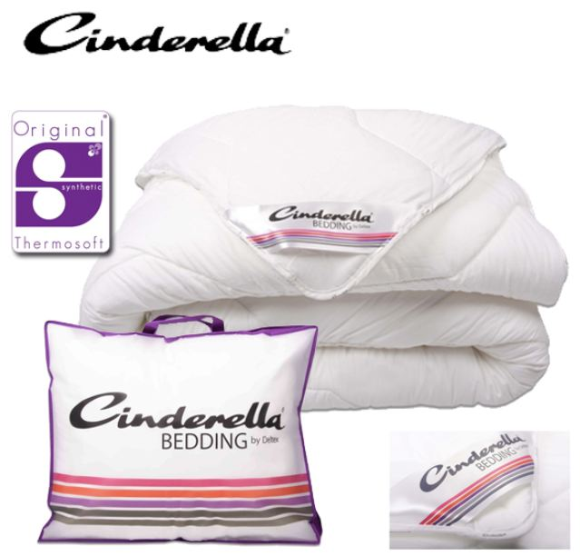 Cinderella Souplesse 4 Jahreszeiten Bettdecke für 45,90€ inkl. Versand   Original Thermosoft Synthetik Fasern, 135/140 x 200 cm