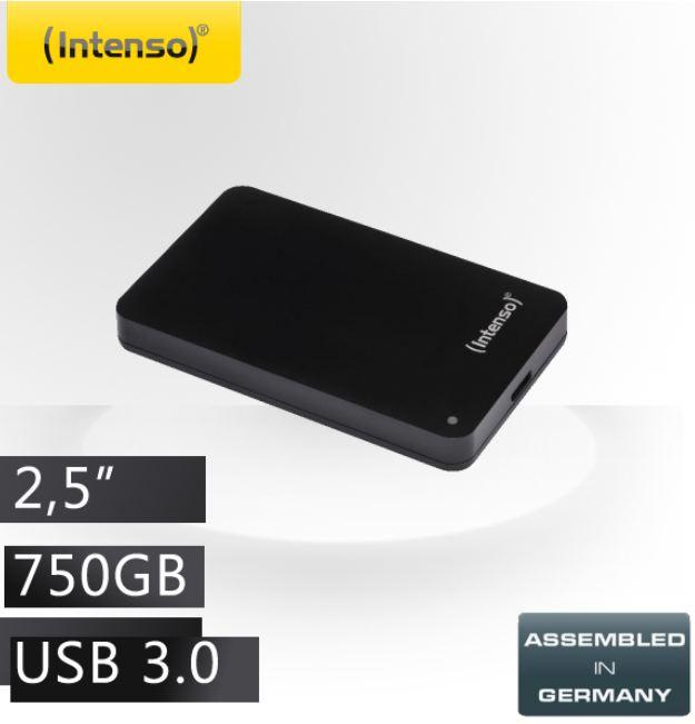 [iBOOD] 2,5 externe USB 3.0 Festplatte: Intenso MemoryCase mit 750GB inkl. Versand 65,90€