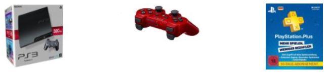[Amazon] PlayStation 3 Zubehör: DualShock 3 Kontroller & Playstation Plus Live Card für 90 Tage, inkl. Versand 44€