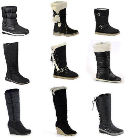 [ebay Wow] Damen Winter Stiefel gefüttert inkl. Versand 18,90€!