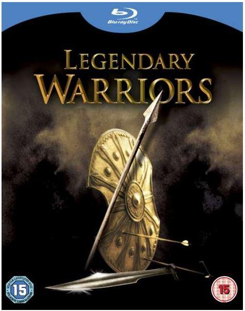 [zavvi] Blu ray Box: Legendary Warrios (300, Kampf der Titanen, Troja) inkl. Versand 18,75€