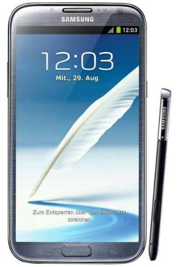 [ebay Wow] Smartphone: Samsung Galaxy Note II N7100 mit 16GB in Titan grau und inkl. Versand 549€