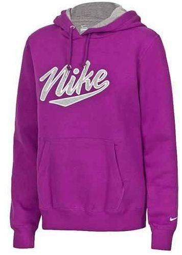 [ebay] Damen Fleece Hoody: Nike Classic lila, inkl. Versand 19,90€