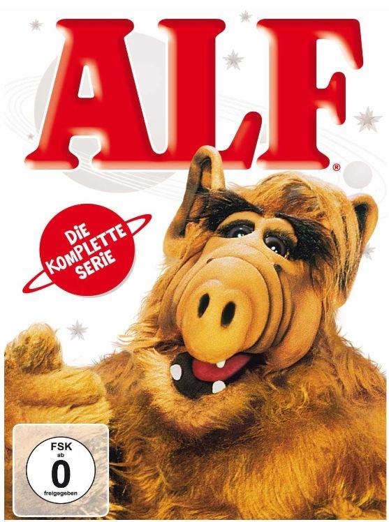 [Amazon] TIPP! DVD BOX: Alf   Die Komplette Serie ab 25.10. inkl. Versand 49,99€