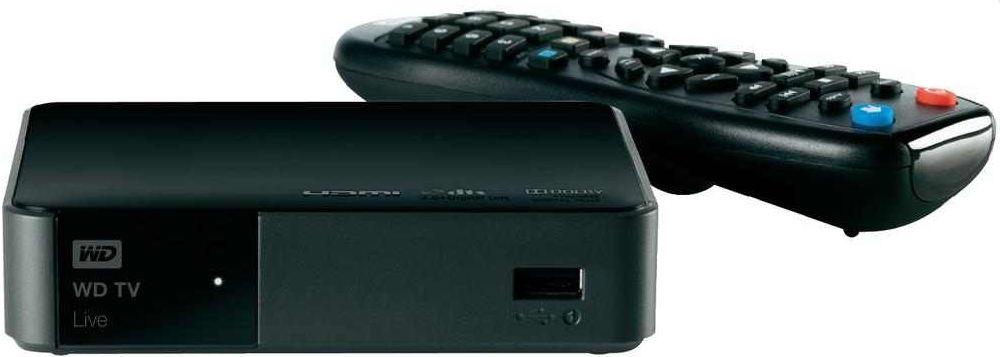 [t online Shop] Wieder da! HD Streaming Media Player: Western Digital TV Live (HDMI, MPEG4, USB 2.0) inkl. Versand 73,98€