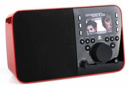 [digitalo] WLAN Radio: Logitech Squeezebox in Rot + Zusatzakku für inkl. Versand nur 113,45€