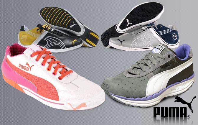 [ebay wow] Damen und Herren Sneaker: 7 verschiedene Puma Modelle in den Größen 3 bis 11, inkl. Versand 29,95€