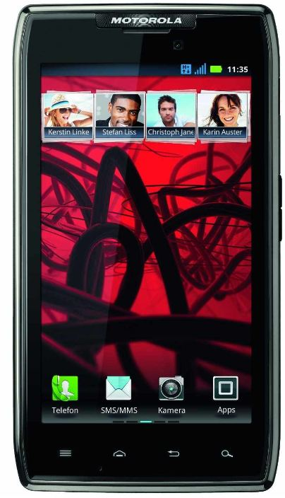 [GetGoods] Smartphone: Motorola RAZR (Android, 4,3 Zoll, Intel CPU) inkl. Versand 270,90€