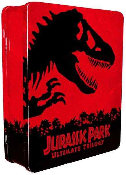 [zavvi] Knaller! Jurassic Park Ultimate Trilogy: Limited Collectors Edition (Steelbox, Blu Ray + Digital Copy) inkl. Versand nur 18,99€