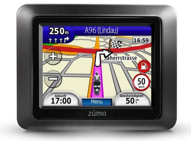 [ebay Wow] Motorrad und Auto Navigationsgerät: Garmin zumo 210 Central Europe (22 Länder) inkl. Versand 199€