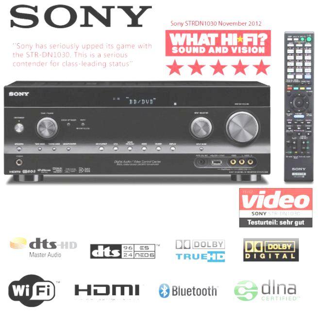 [iBOOD] 7.2 AV Receiver: Sony STR DN1030 mit integriertem WiFi, Bluetooth und Netzwerk, inkl. Versand nur 408,90€