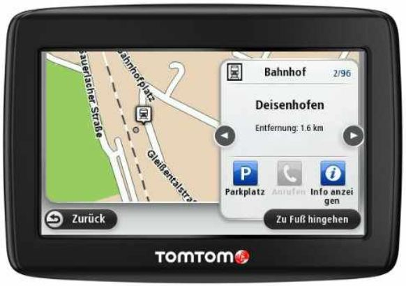 [Amazon Blitzangebote] Jetzt: TomTom Start 25 Central Europe Traffic inkl. Versand 107,95€