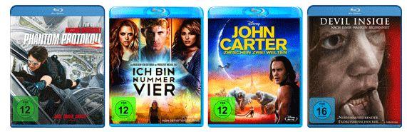 [Amazon] Neue Blu ray und DVD Angebote!