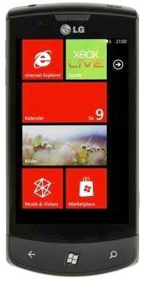 [MeinPaket] Smartphone: LG E900 Optimus Windows Phone 7, inkl. Versand 126,10€