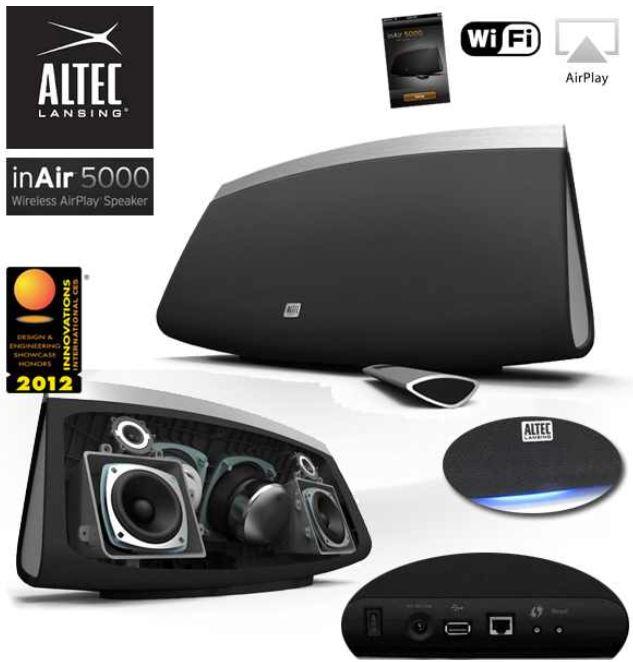 [Amazon] UPDATE! Altec Lansing Inair 5000, inkl. Versand nur 185€ (Vergleich 283€)