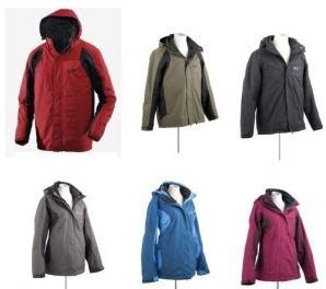 [ebay Wow] Outdoor Funktionsjacke: Jack Wolfskin Cold Mountain, Doppeljacke inkl. Versand 149,95€