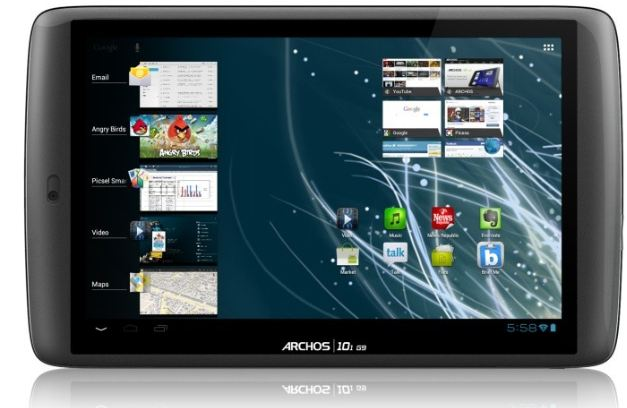 [ebay Wow] Archos 101 G9 Turbo Tablet: kapazitiver Multi Touchscreen, 250GB und Android 4.0 inkl. Versand 219€
