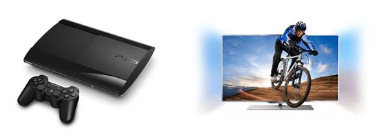 [Amazon] Gratis PS3 Super Slim beim Kauf eines 55 Zoll 3D TV Philips mit 139 cm, für inkl. Versand 1.149€