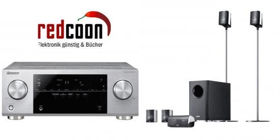 [redcoon] 5.1 Receiver und Heimkinosystem: Pioneer VSX 422 S + Canton Movie 130 für 299€ inkl. Versand