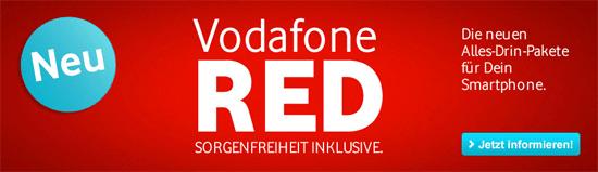 [handyflash] Vodafone Red M: monatlich 17,49€ für Selbstständige oder 24,99€ für Privatkunden