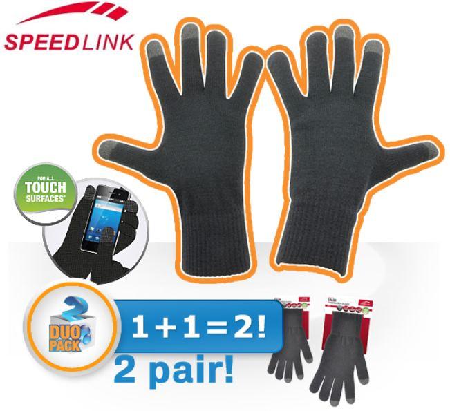 [iBOOD] Zweierpack Speedlink CALOR Touchscreen Handschuhe, inkl. Versand 18,90€