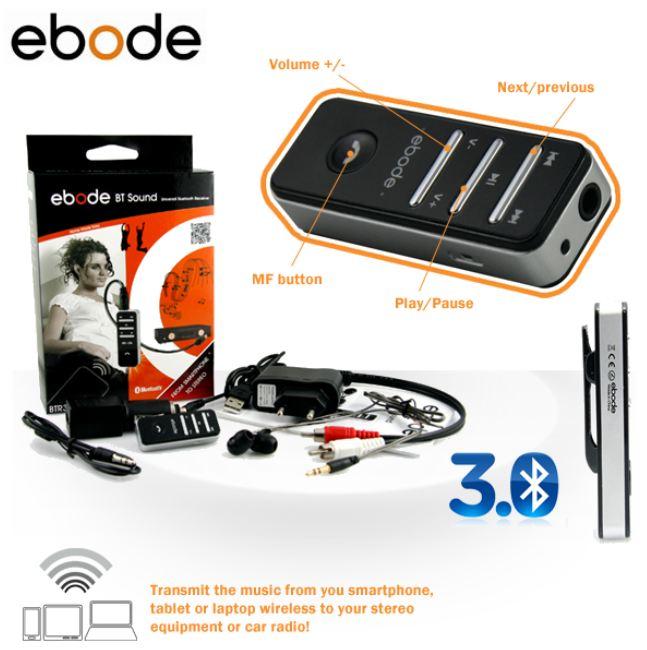 [iBOOD] Ebode universal Bluetooth Empfänger und Headset inkl. Versand 30,90€