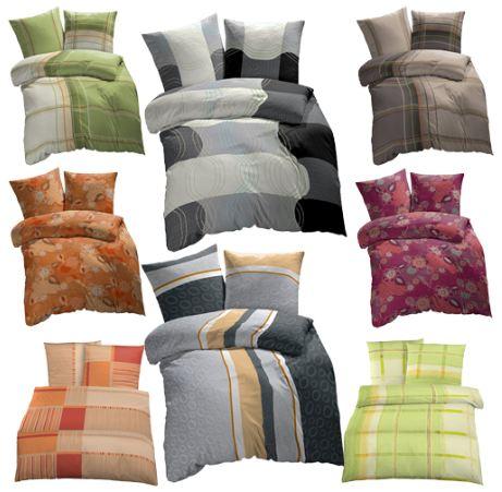 ebay wow satin bettw sche 8 dessins 135x200cm. Black Bedroom Furniture Sets. Home Design Ideas