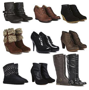 [ebay Wow] Wieder da: 16 verschiedene Damen Schuhe, Stiefel, Pumps u.a. inkl. Versand 19,99€