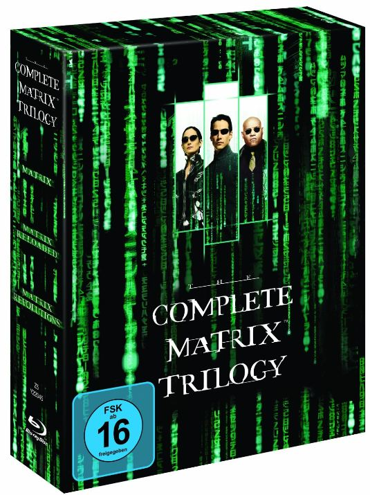 Blu ray: Matrix   The Complete Trilogy inkl. Versand ab 13,99€