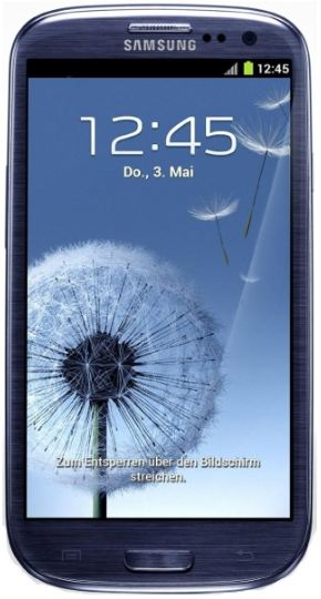 Android 4 Smartphone, Samsung Galaxy S3 i9300, mit 16 GB inkl. Versand 379€