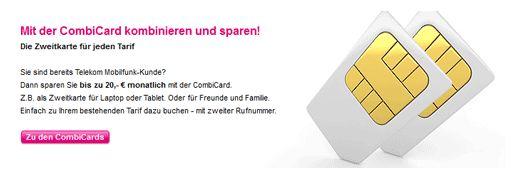 [Logitel] Hammer! Telekom CombiCard: All Net Flat + Telekom Special Call & Surf jetzt für monatlich 24,11€