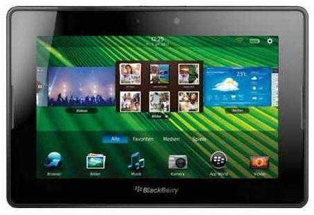 [redcoon] BlackBerry, 7er PlayBook mit 64 GB 17,8 cm Display, 5 MP Kamera inkl. Versand 179€
