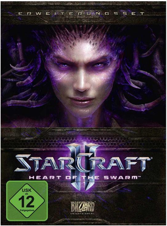 [Amazon] Tipp: StarCraft II: Heart of the Swarm inkl. Versand 39,99€
