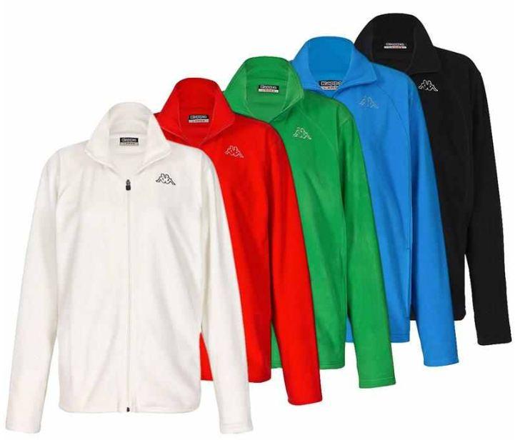 [ebay Wow] Unisex Fleecejacke: Kappa Jacke Fleece 5 Farben (Größe S bis XL) je inkl. Versand 19,95€