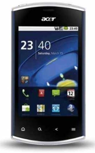 [Ebay] Android 2.2 Smartphone: Acer Liquid Mini E310 mit 5MP, inkl. Versand 66€