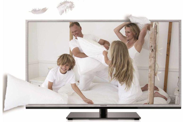 [MeinPaket] 40er 3D TV Toshiba mit 101,6 cm und Full HD, 200Hz AMR, DVB T/C, CI+, DLNA, Web TV inkl. Versand nur 389,70€