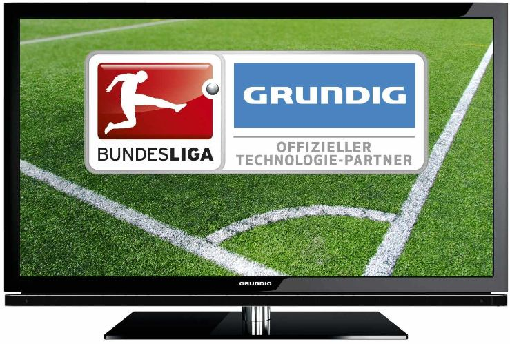 [Amazon] 3D TV Deal des Tages: 40 Grundig VLE 8160 mit 117 cm, triple Tuner und 3D USB recording, inkl. Versand 449€