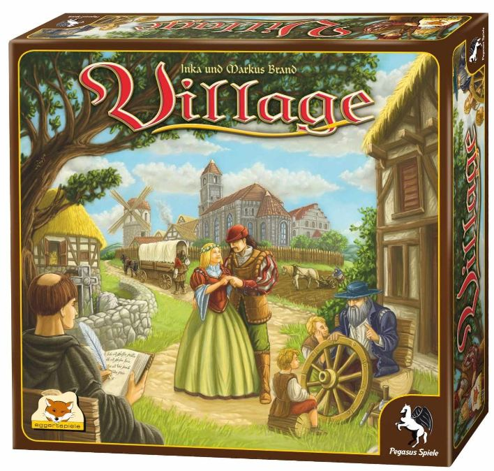 Update! Kennerspiel des Jahres 2012: Village für 18,70€