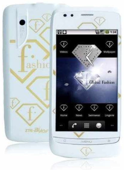[ebay Wow] Android Smartphone: FTV ZTE Blade, FASHION TV, 3,2 MP, inkl. Versand 49,90€