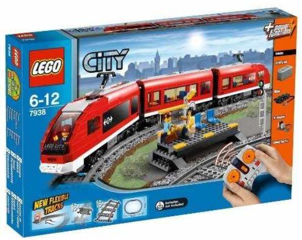 [Amazon.it] Wieder da: LEGO City 7938  Passagierzug, inkl. Versand nur 80,76€ (Preisvergleich 97€)