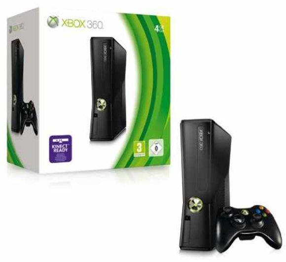 XBox 360: Slim 4GB Version inkl. Versand nur 111€