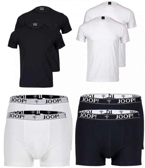 [ebay Wow] Herren T Shirt o. Boxer Shorts: 2er Pack JOOP in den Größen von S bis XXL, inkl. Versand 19,99€