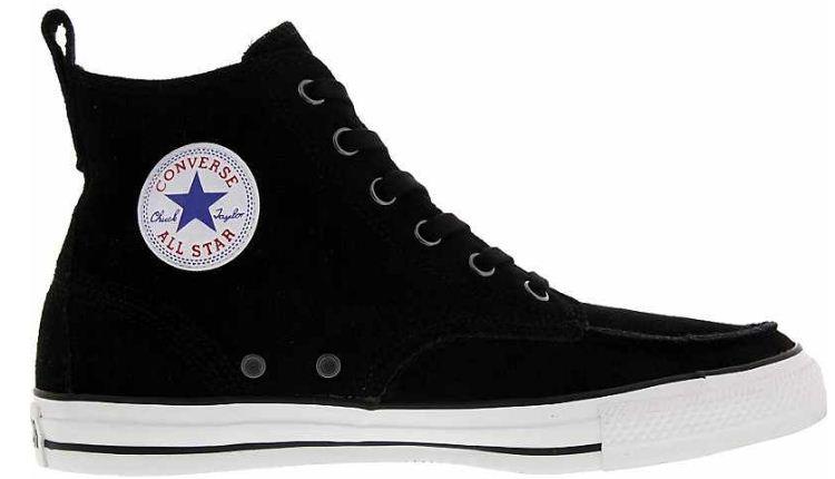 [ebay Wow] Converse Chuck All Star AS Classic Boot SCHWARZ Sneaker Herren Nubukleder