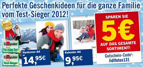 [Lidl] Foto: 5€ Gutschein auf Alles (MBW 5€)!